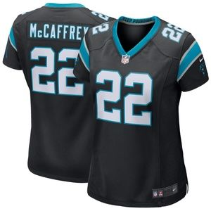 Women Carolina Panthers Christian McCaffrey Jersey